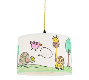 Kids Lampshade Yellow