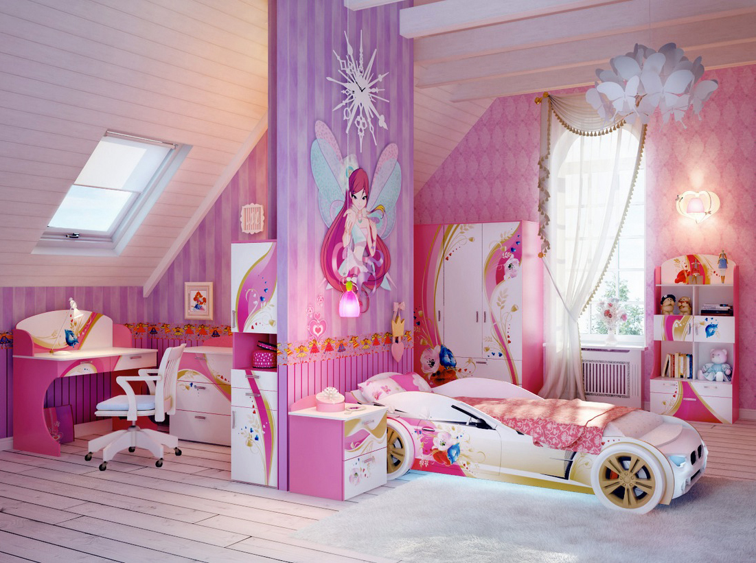 How To Decorate Your Daughter S Room Mullan Kids